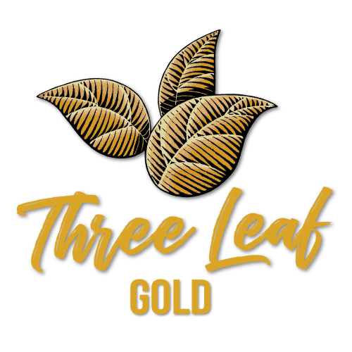 Three Leaf - Gold