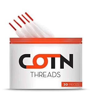 COTN Cotton Threads 20-Pack Nimbus Vapour