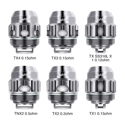 Freemax Fireluke 2/Twister Replacement Coil 5-Pack Nimbus Vapour