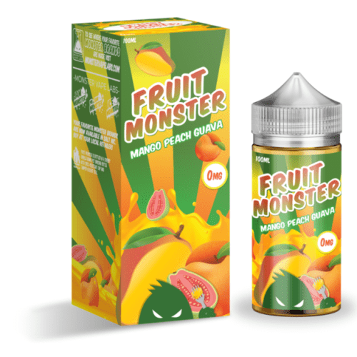 Jam Monster Fruits - Mango Peach Guava Nimbus Vapour
