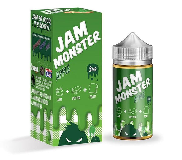 Jam Monster - Apple Nimbus Vapour