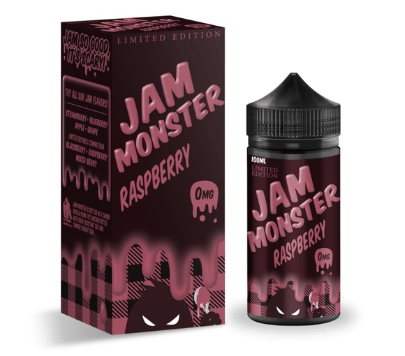 Jam Monster - Raspberry - Nimbus Vapour