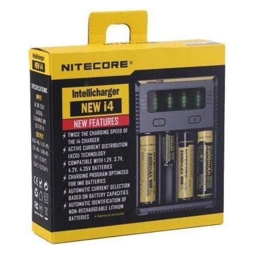 Nitecore Intellicharger i4 Nimbus Vapour