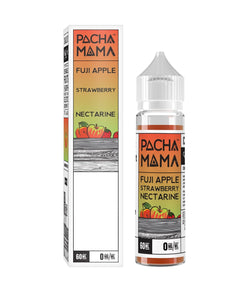 Pacha Mama - Fuji Apple Strawberry Nectarine - Nimbus Vapour