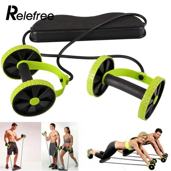 New Yoga Fitness Exercise Abdominal Roller