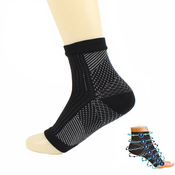 New Anti Fatigue Compression Yoga / Running Socks