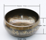 New Copper Tibetan Singing Bowl - 8 Sizes To Chose From!