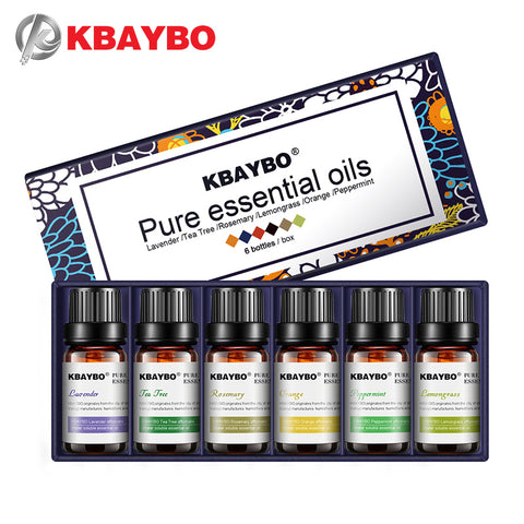 New Essential Oils Pack of 6