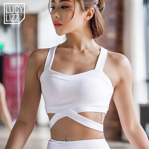 New Sexy Versatile Sports Bra / Top - White, Black, or Pink available!