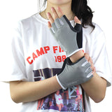 New 1 Pair Women/Men Anti-skid Breathable Gym Fitness Gloves