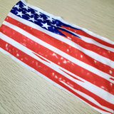 New American Flag Headband , Head Wrap