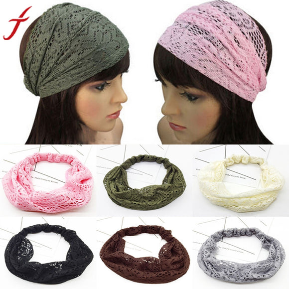 New 46-60CM Lace Head Wrap