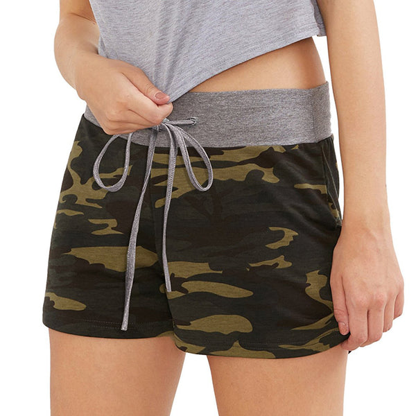 New Sexy Camouflage  Workout Yoga Shorts