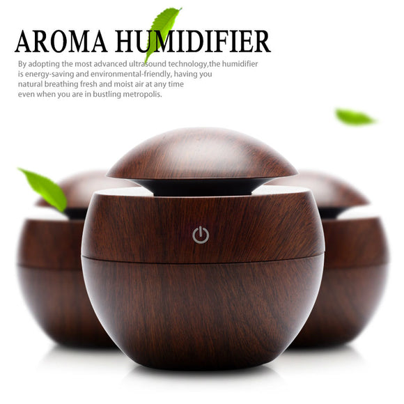 New Mini Wooden Aromatherapy Humidifier 4 Different Colors