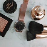 The Rose Gold & Black