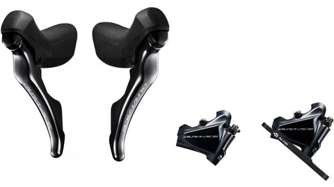 Shimano Di2 ST-R9170+BR-R9170  Dura Ace Disc Brake Set