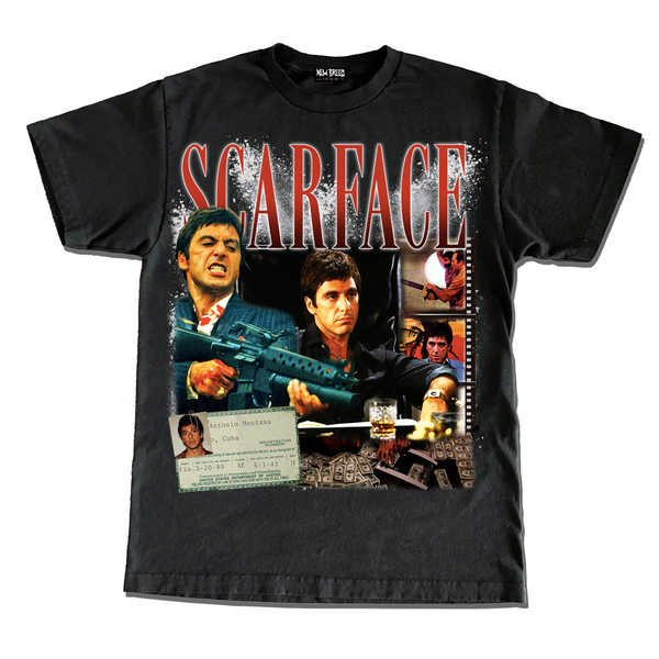 "Scarface ""Movie"" Tee - Deadhom!es Collab"