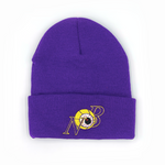 LA Dimensions Beanie Purple