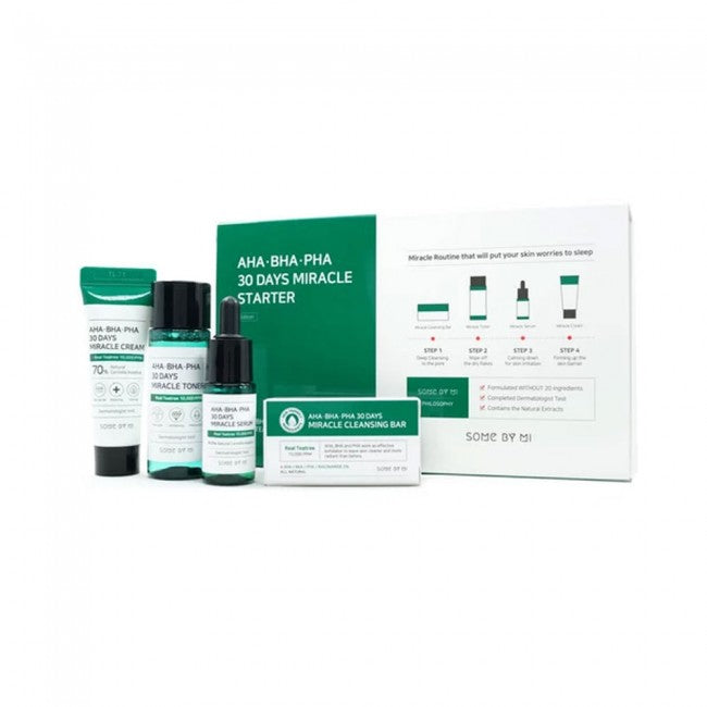 Some By Mi AHA BHA PHA 30 Days Miracle Starter Kit - 1pack (4pcs)