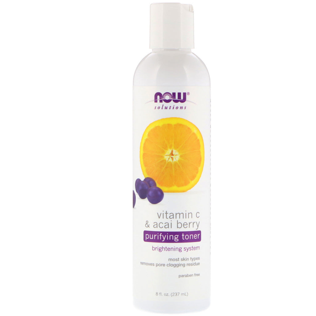 Now Foods , Vitamin C and Acai Berry Toner