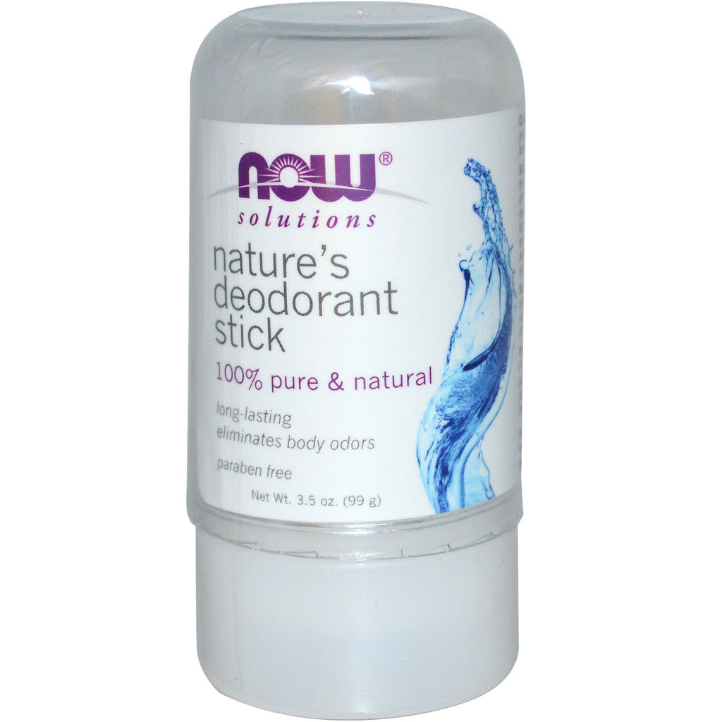 Now solutions , Nature's Deodorant stick , 99 g