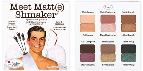 The balm meet matt Shmaker