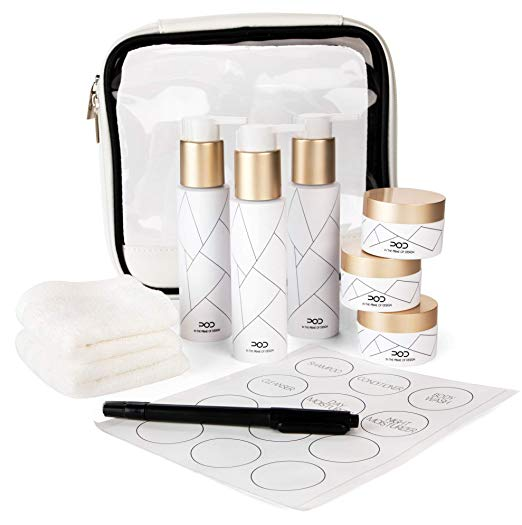 TSA Travel Bottle Set (10pcs)