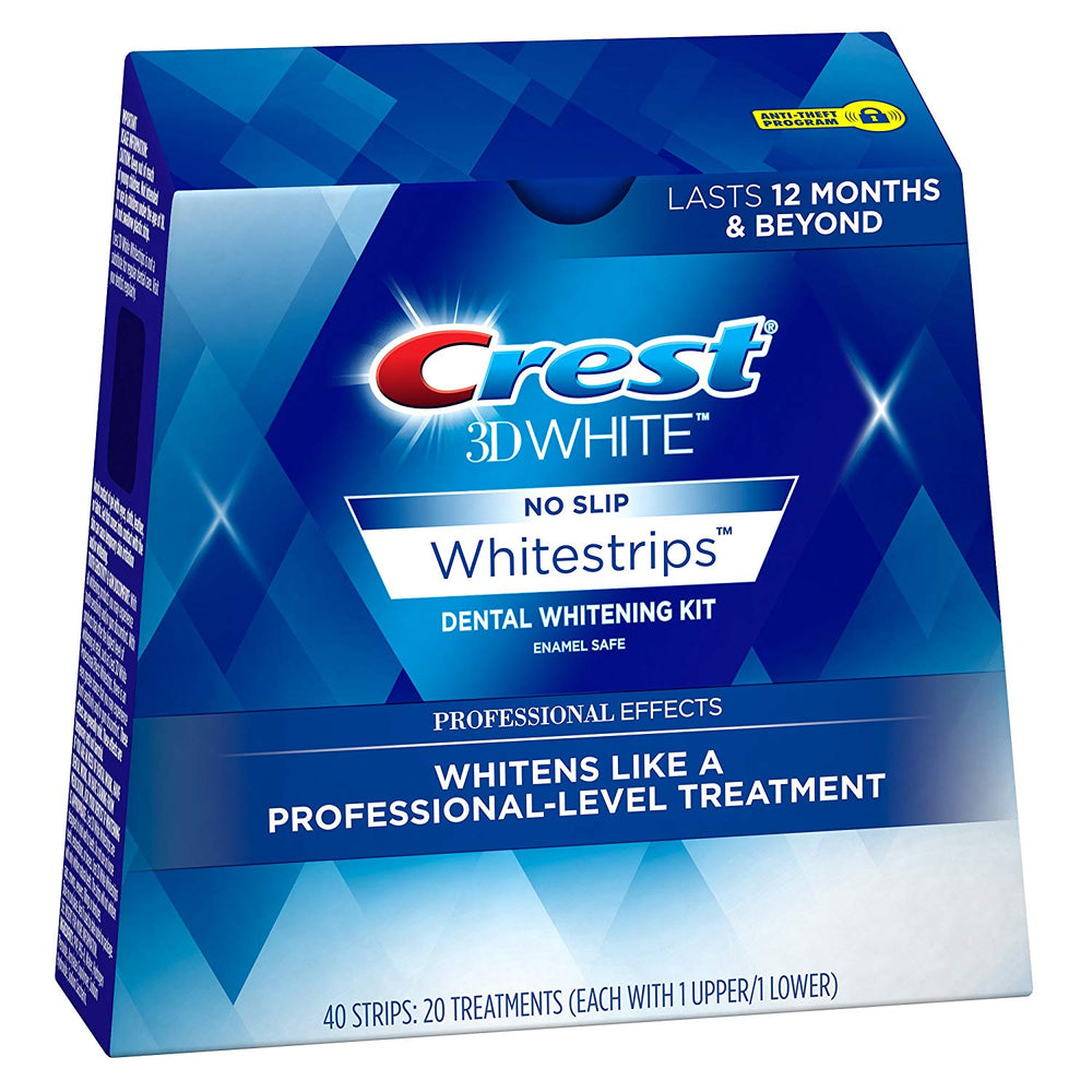 Crest , 3D White Professional Effects Whitestrips Teeth Whitening Strips Kit
