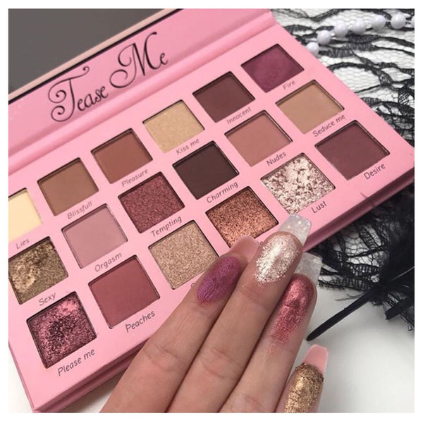 Tease Me Palette  Beauty creations cosmetics