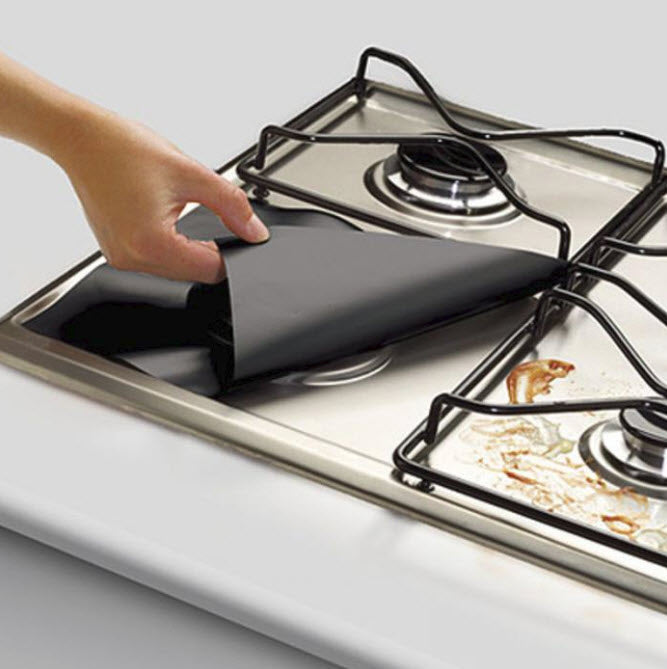 Kitchen  Aluminum Foil Stove Cover