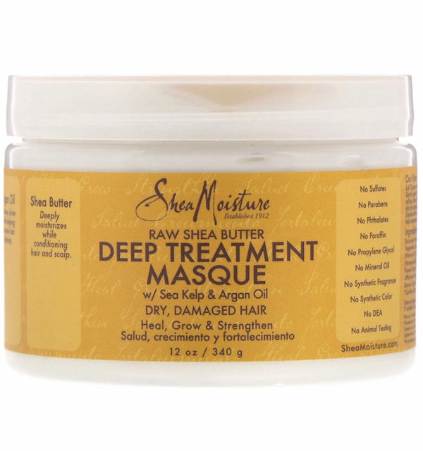 Shea moisture, raw shea butter deep treatment masque 340ml