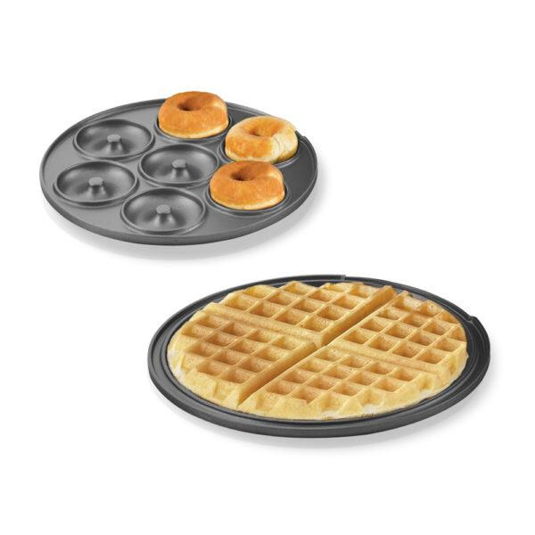 Saachi 3 In 1 Donut/Brownie/Waffle Maker NL-3M-1557