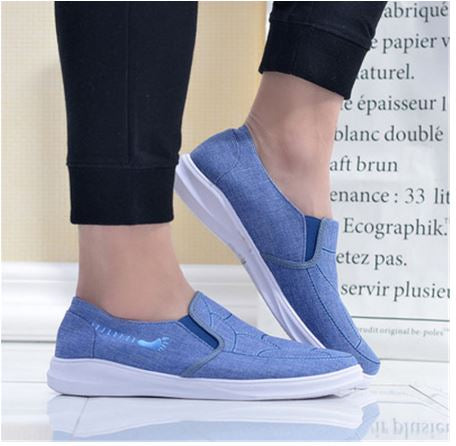 spring and summer light canvas shoes fashion men's breathable running shoes lovers flat shoes zapatos de hombre