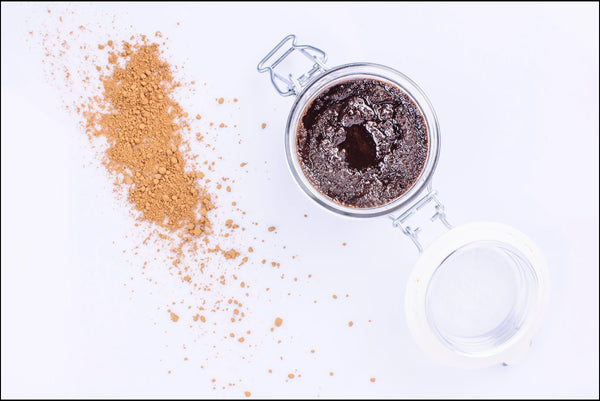 Cacao Argan oil body scrub