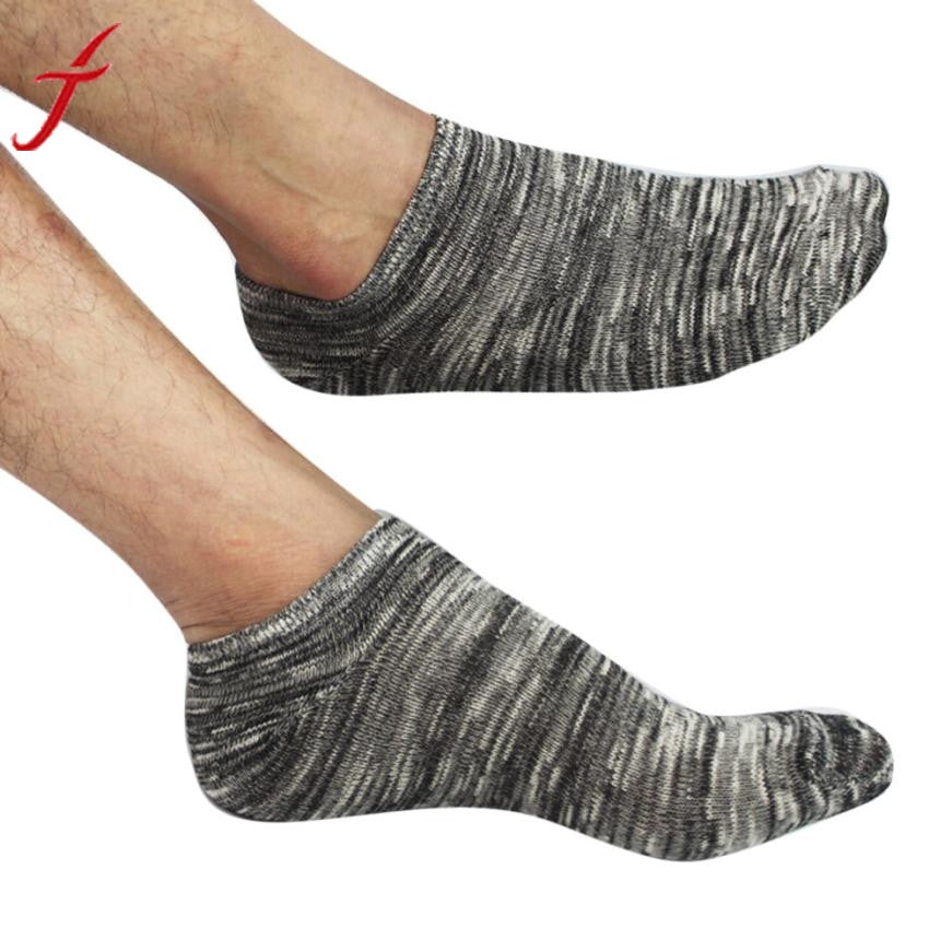 Free Size Men's Cotton Warm Socks Crew Ankle Low Cut Casual Business Classic Cotton Socks