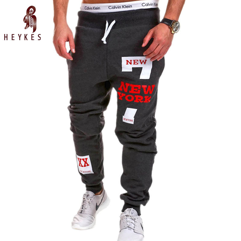 HEYKESON Brand Male Tracksuit Trousers