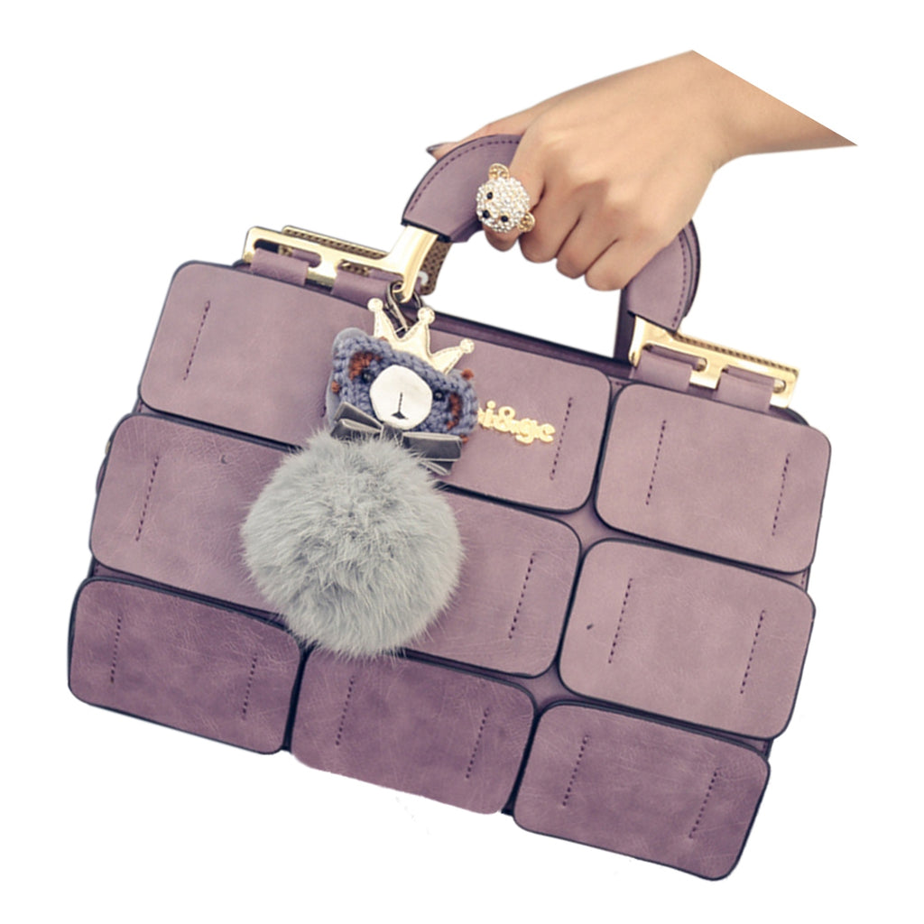 Fashion Pu leather luxury handbags for women