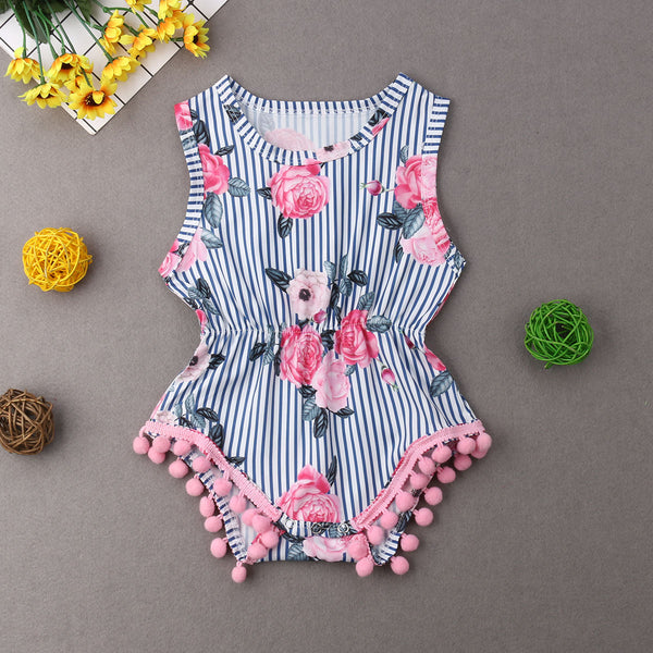 Pudcoco Girl Jumpsuits 0-18M US Newborn