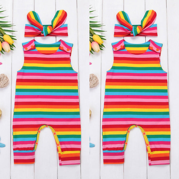 Girl Jumpsuits Newborn Baby Girls