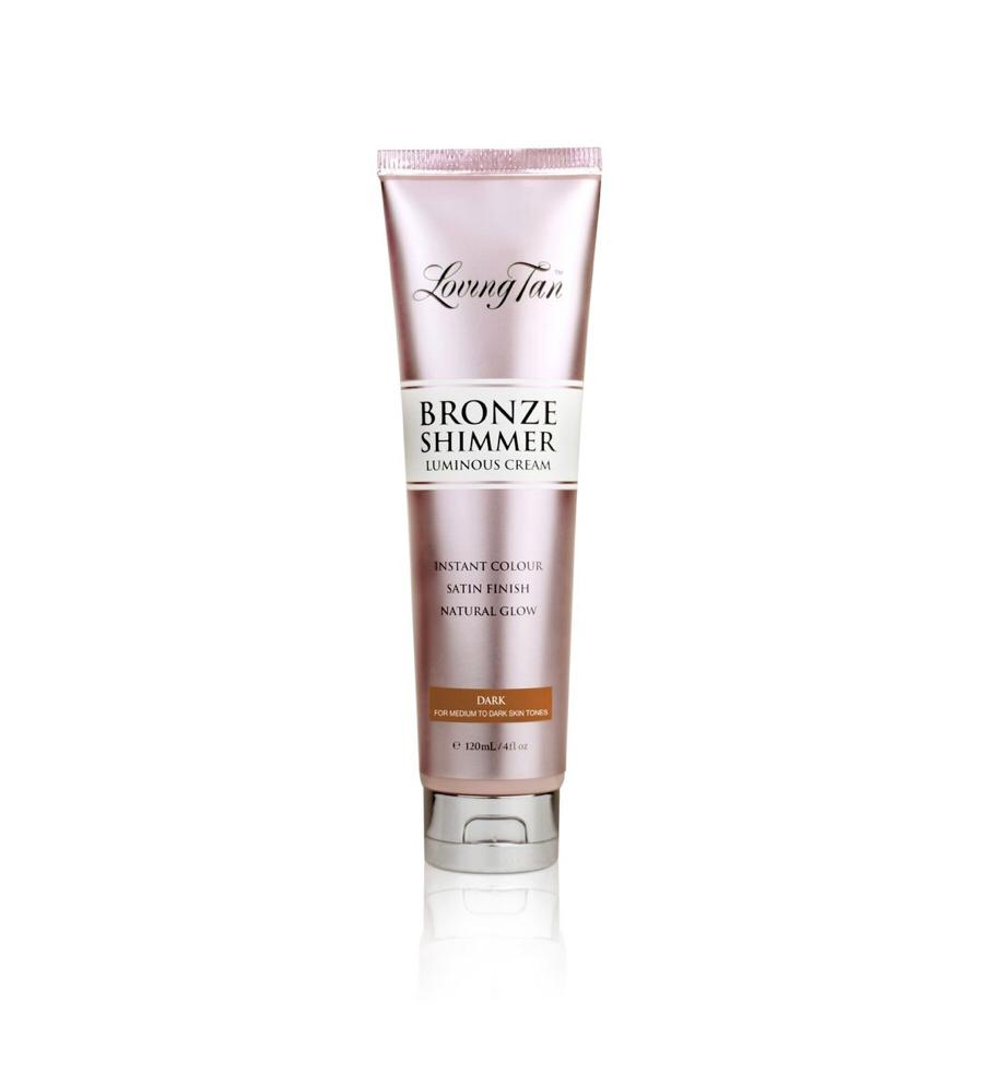 BRONZE SHIMMER LUMINOUS CREAM DARK 120 ml