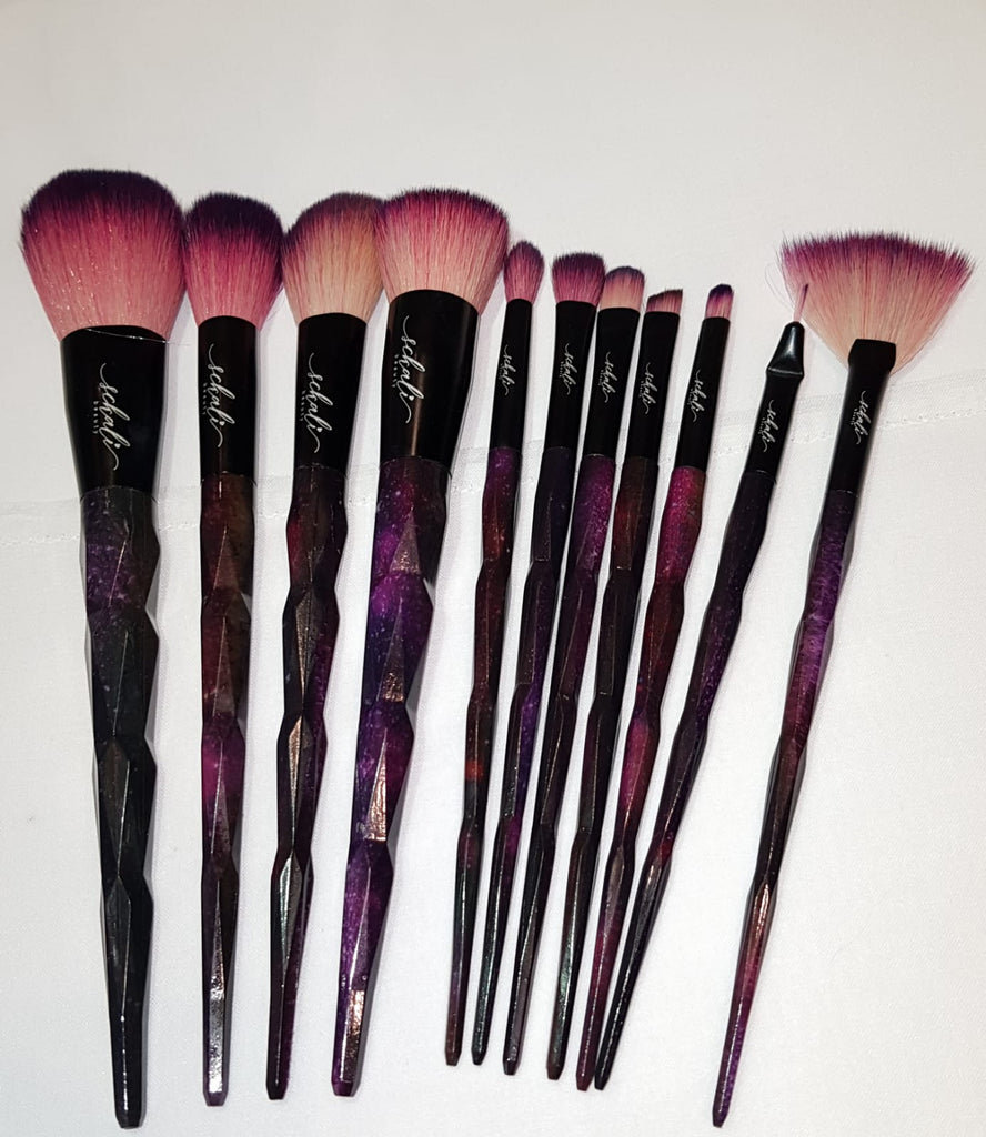 Agate crystal makeup Brush