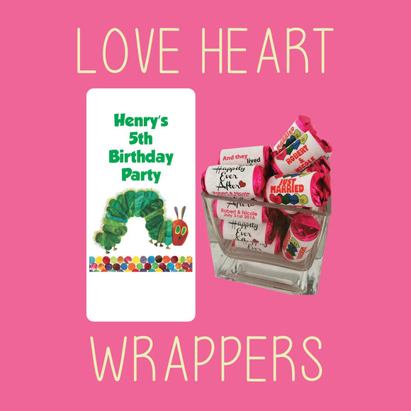 Love Heart Wrappers - COMING SOON