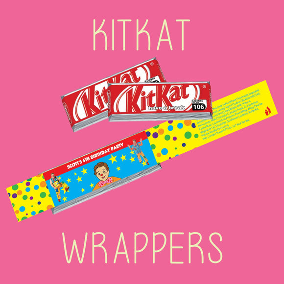 Kitkat Wrappers