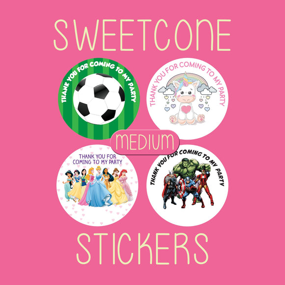 Sweet Cone Stickers