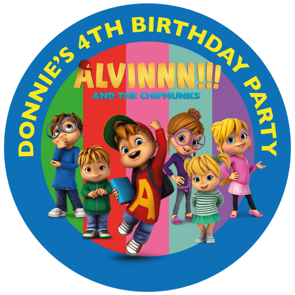 Alvin & the Chipmunks Party Box Stickers
