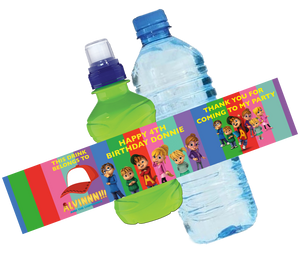 Alvin & the Chipmunks Bottle Wrappers