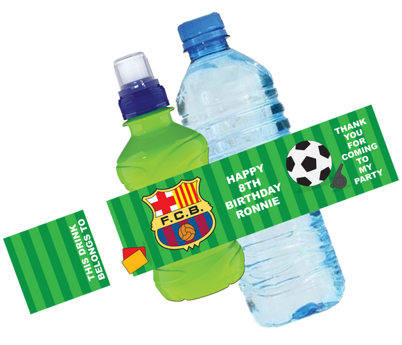 Barcelona FC Bottle Wrappers