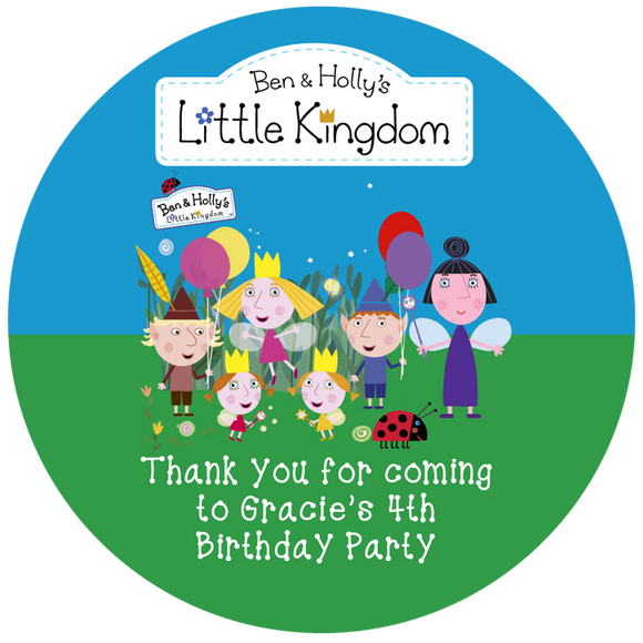 Ben & Holly Party Box Stickers