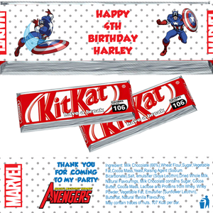 Captain America KitKat Wrappers