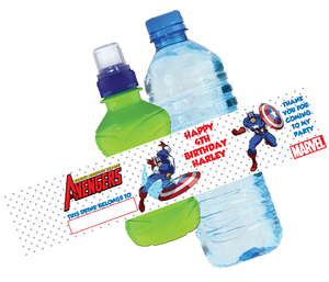 Captain America Bottle Wrappers